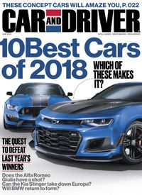 Car and Driver cover