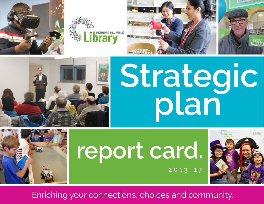 Strategic Plan Report Card