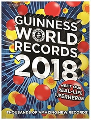 Guinness world records 2018 book cover