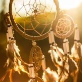Image of two dreamcatchers